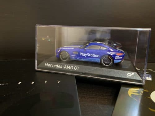 CollectorsEditiondiGranTurismoSport MercedesAMGGTmodellino